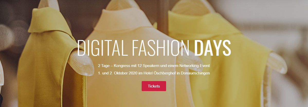 Digital Fashion Days - Perfion ist mit dabei